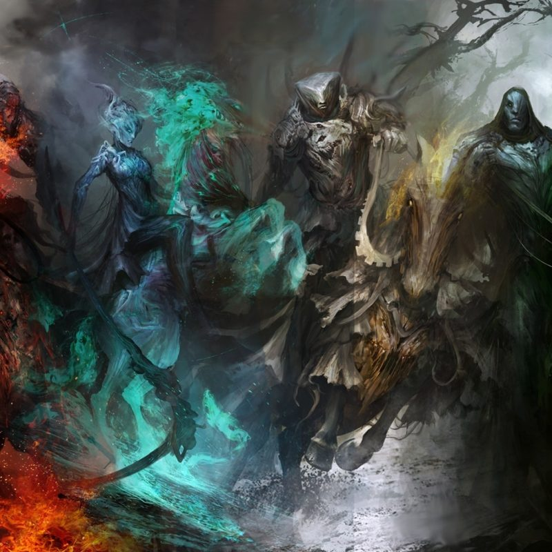 10 Latest Horsemen Of The Apocalypse Wallpaper FULL HD 1080p For PC Desktop 2018 free download wallpaper four horsemen of the apocalypse artwork fantasy art 800x800