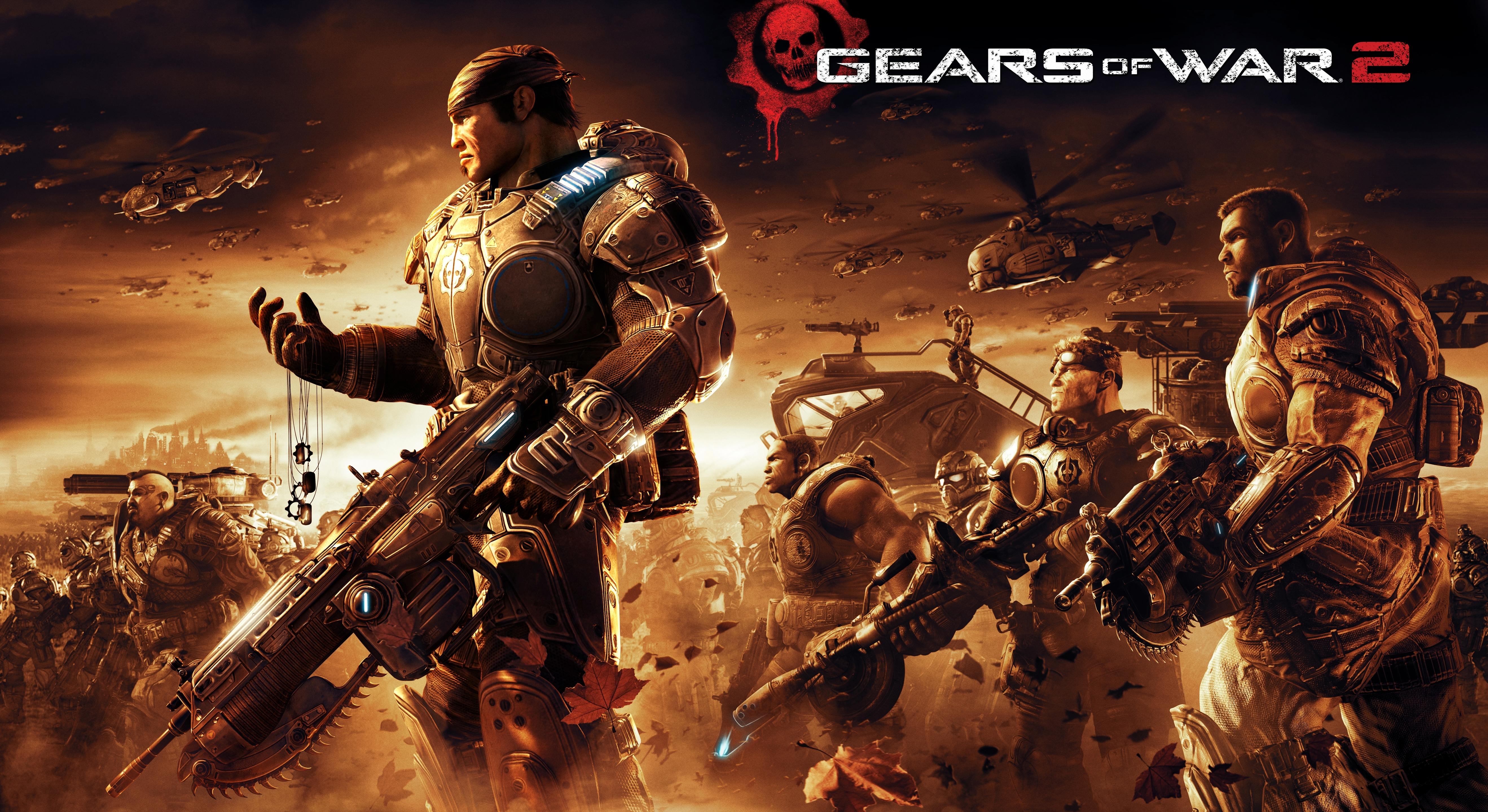 wallpaper gears of war 2, xbox, 5k, games, #350
