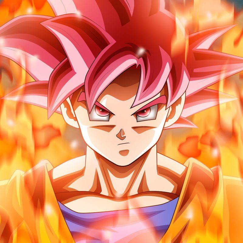10 Best Goku Super Saiyan God Wallpaper Hd Full Hd 1080p For Pc