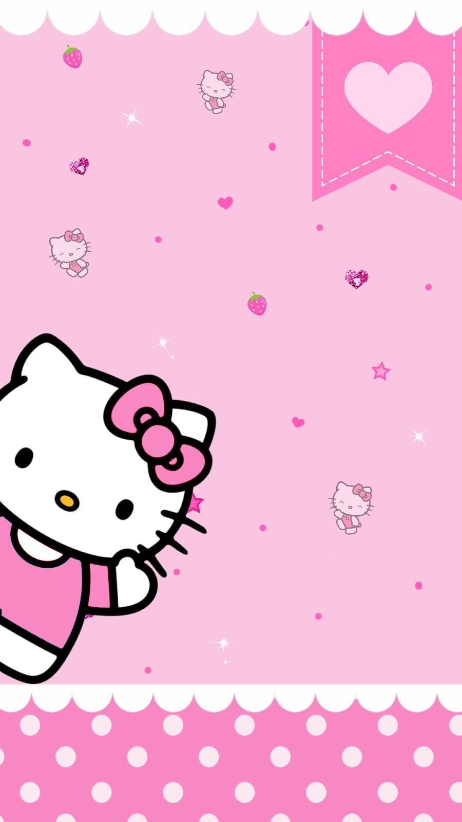 wallpaper hello kitty pinterest | whatsapp| anime| quote| girly