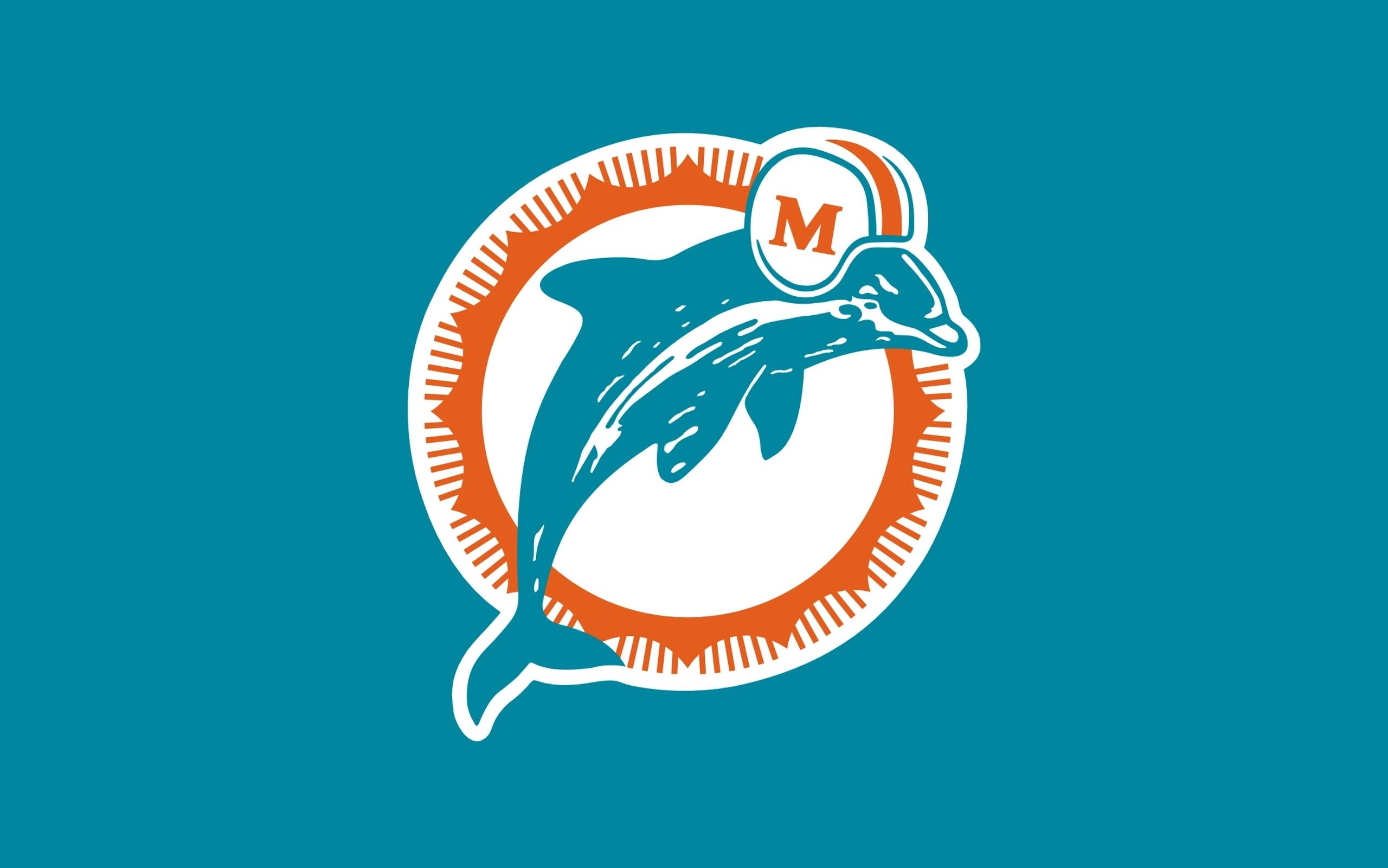 wallpaper : illustration, text, logo, circle, brand, miami dolphins