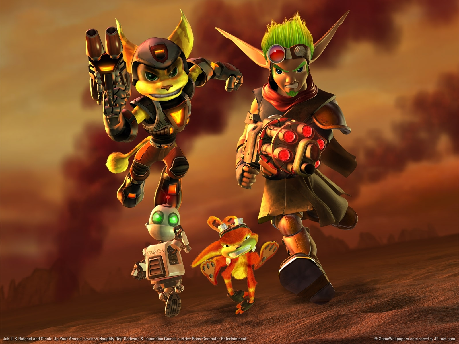 wallpaper jak 3 and ratchet and clank up your arsenal 01 1600 - 10