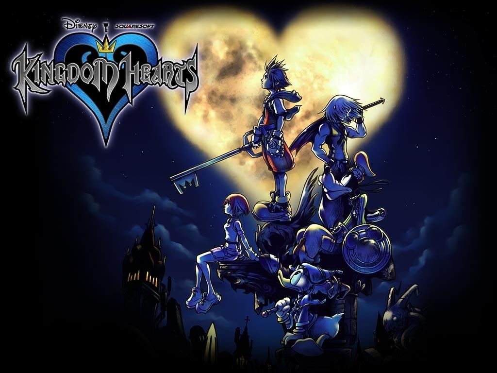 wallpaper : kingdom hearts jeux vidéo fond d'écran