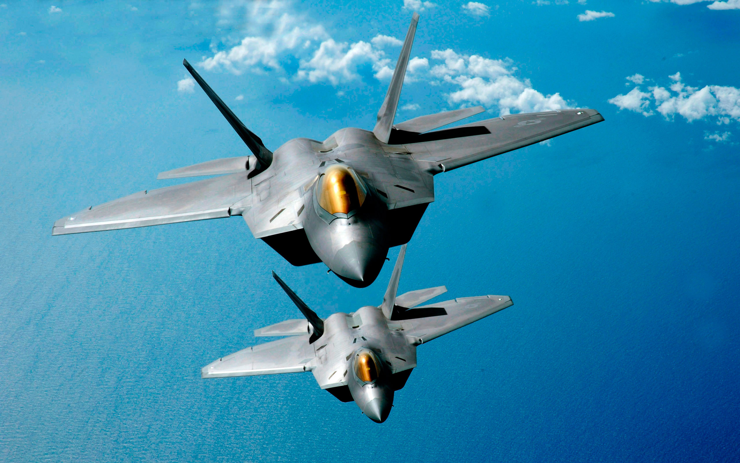 wallpaper lockheed martin f-22 raptor, stealth fighters, hd