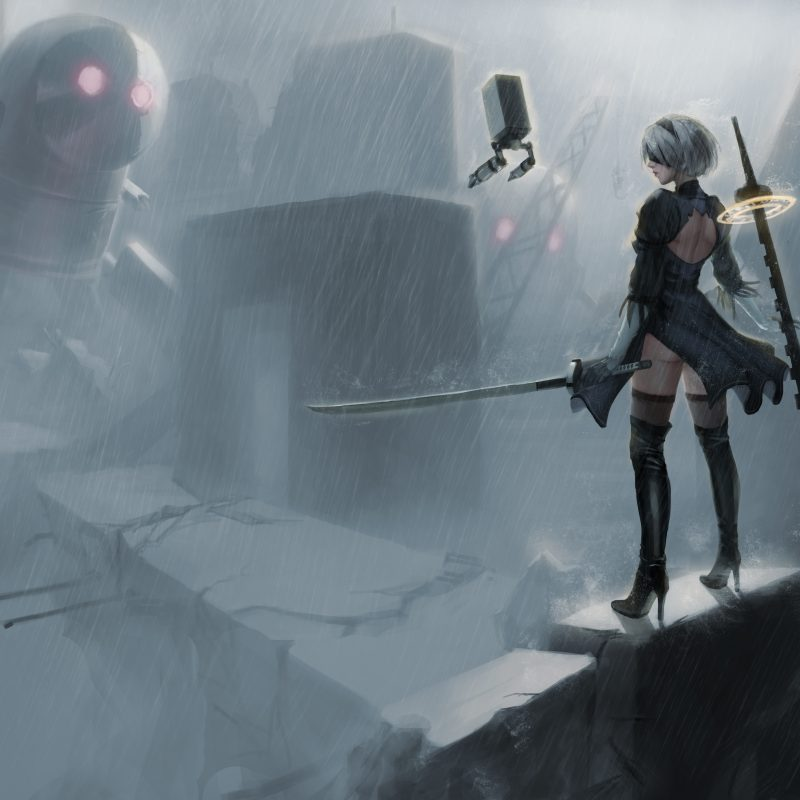 10 New Nier Automata Wallpaper 4K FULL HD 1080p For PC Desktop 2020 free download wallpaper nier automata fan art 4k games 9500 800x800