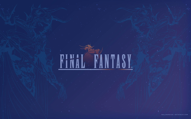 wallpaper of the month: final fantasy 1 » yatta-tachi