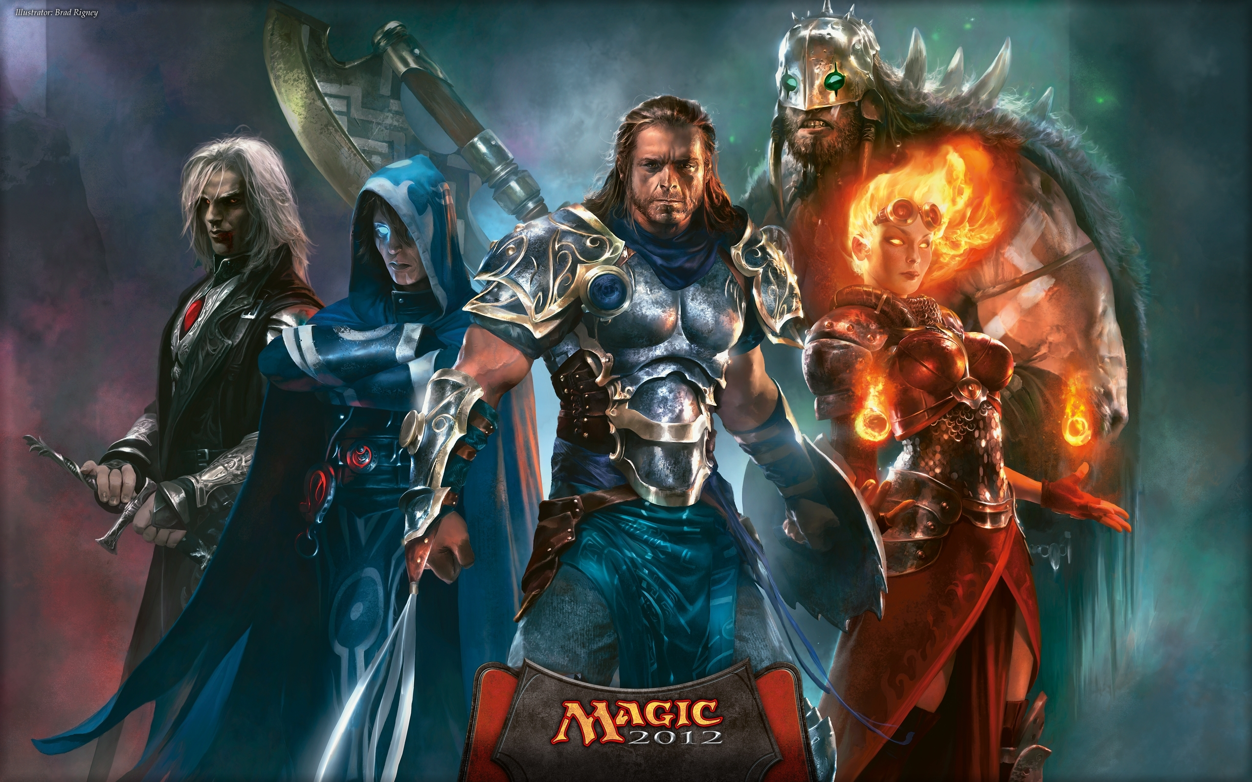 wallpaper of the week: planeswalkers! | magic: the gathering