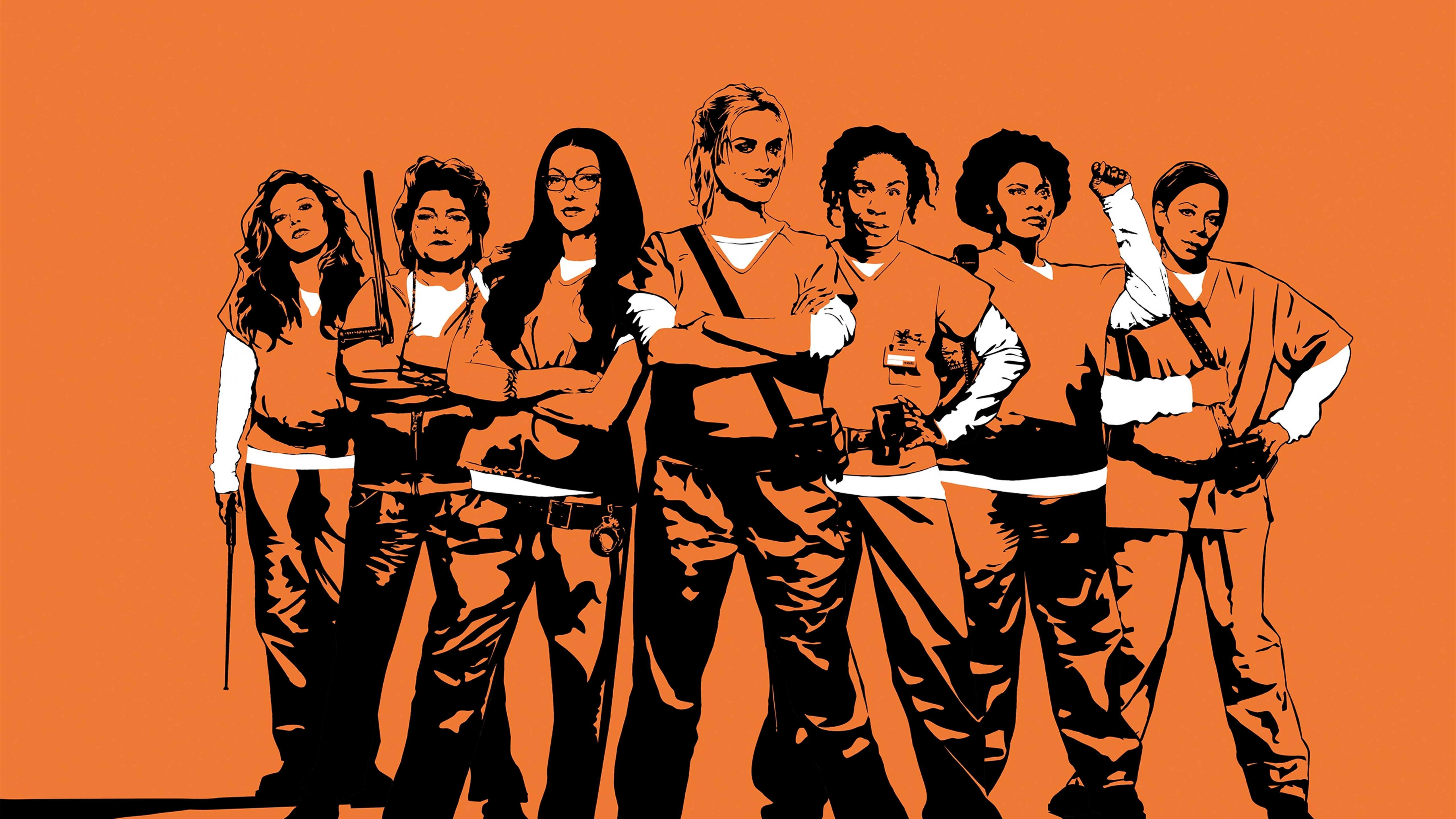wallpaper orange is the new black, season 5, 4k, tv series, #7692