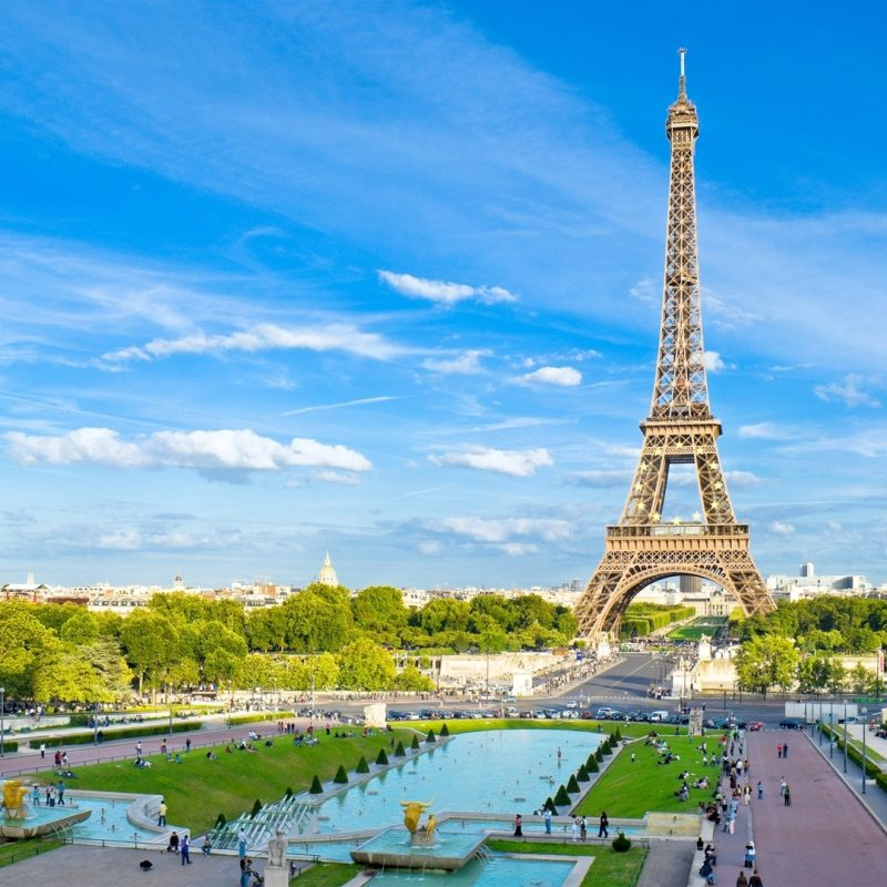 10 Top Wallpapers Of Paris France FULL HD 1080p For PC Background 2018 free download wallpaper paris france eiffel tower sky blue 1920x1080 800x800