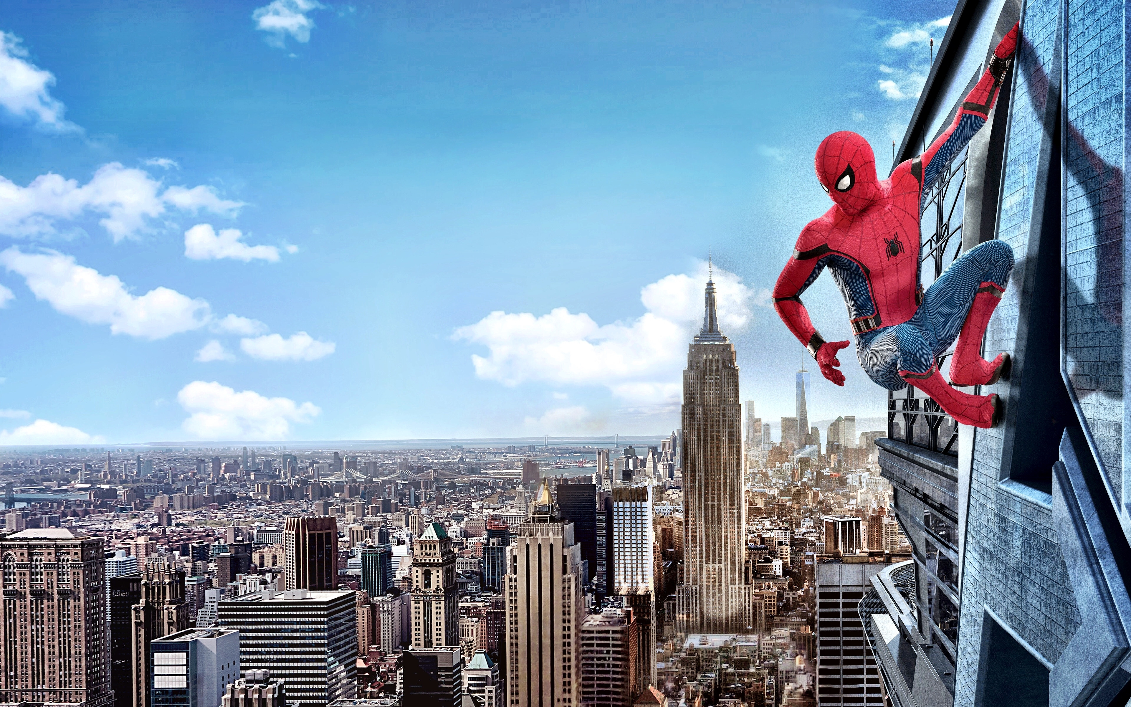 wallpaper spider-man: homecoming, 4k, movies, #7628
