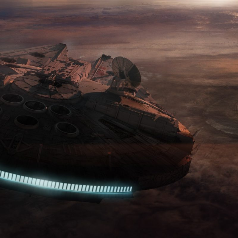 10 Latest Star Wars Millennium Falcon Wallpaper FULL HD 1920×1080 For PC Background 2018 free download wallpaper star wars sky earth atmosphere millennium falcon 800x800