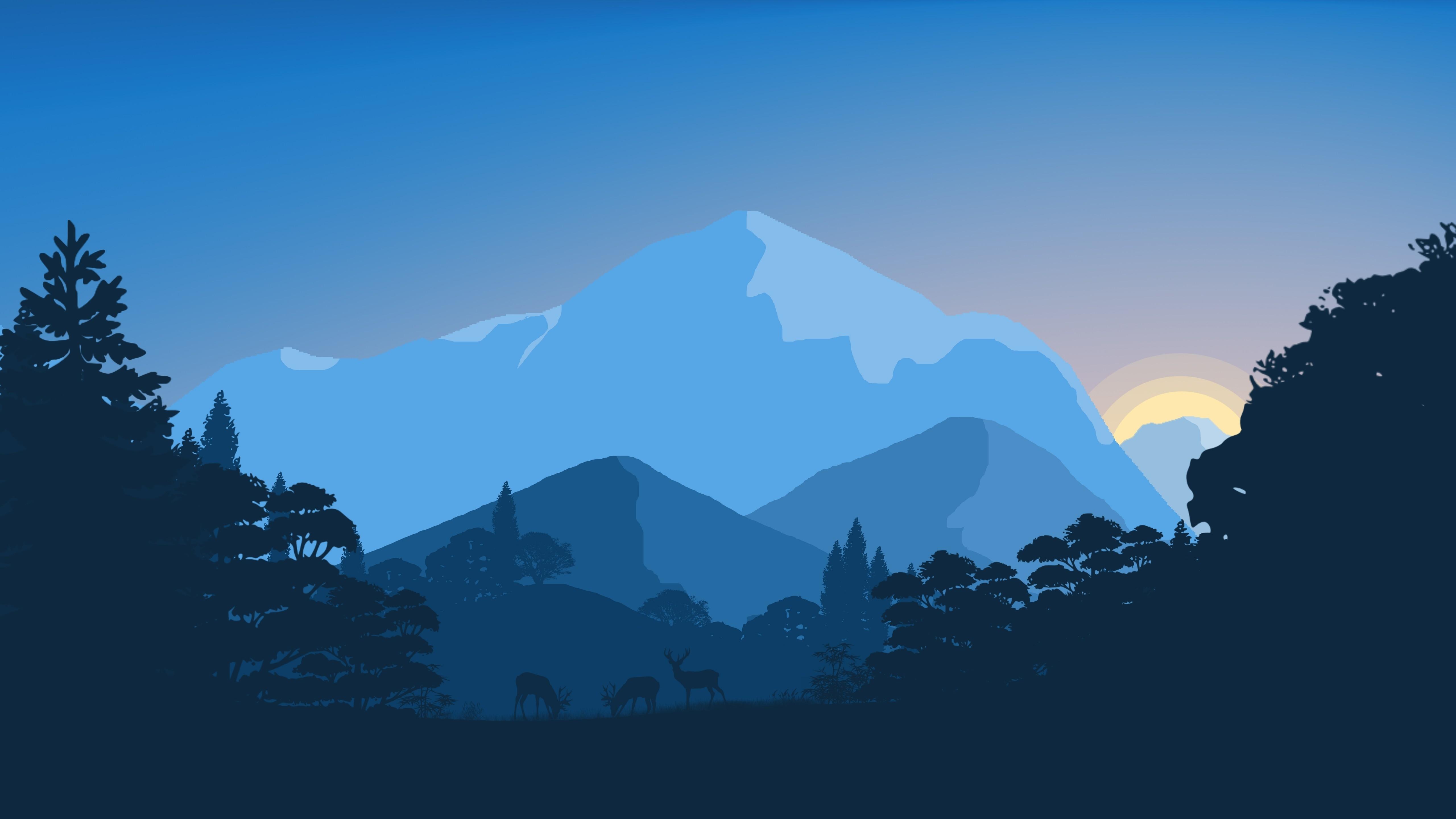 10 Top 4K Minimalist Wallpaper FULL HD 1080p For PC ...