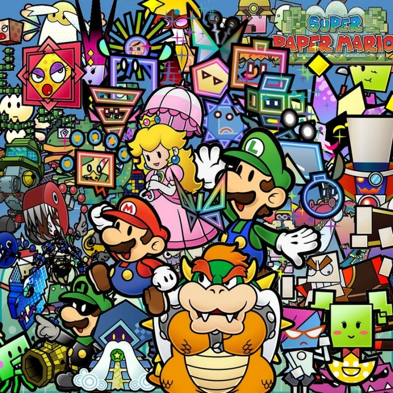 10 Top Super Paper Mario Wallpaper FULL HD 1920×1080 For PC Desktop 2021 free download wallpaper super paper mariodablackblur on deviantart 800x800