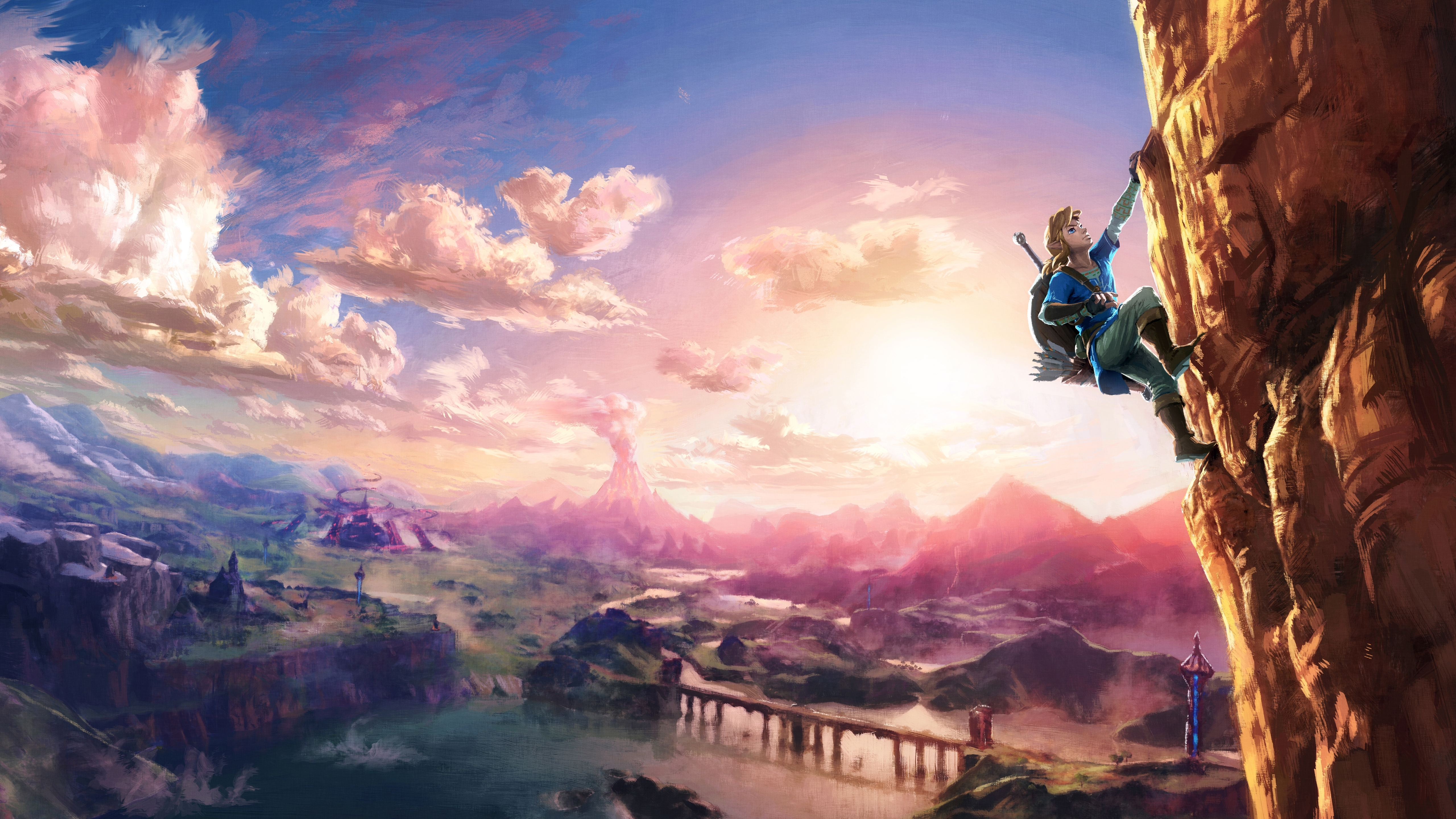 wallpaper the legend of zelda, breath of the wild, 5k, games, #1160