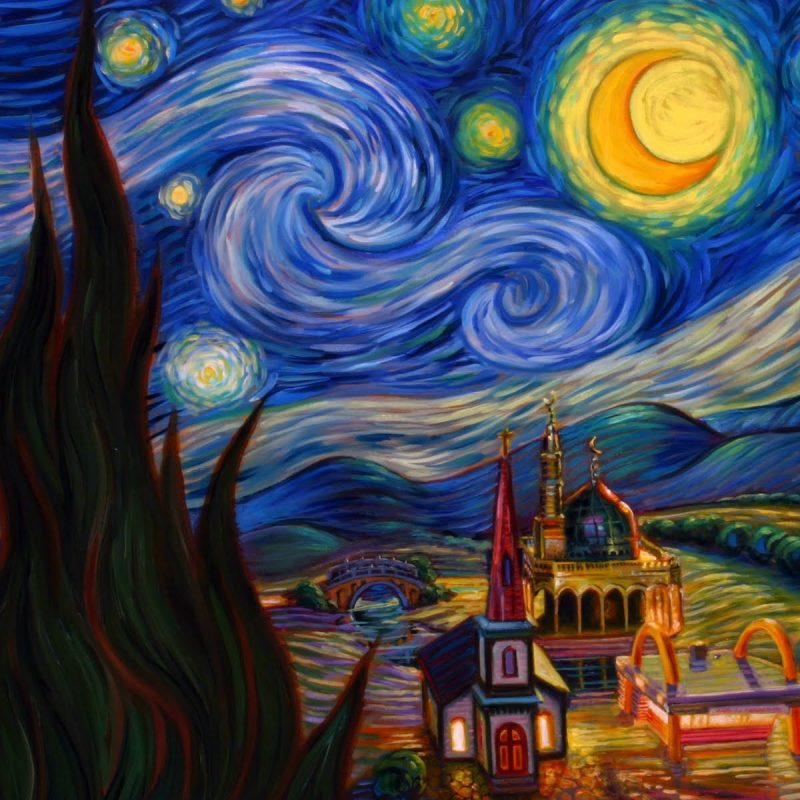10 New Starry Night Over The Rhone Wallpaper FULL HD 1080p For PC Background 2020 free download wallpaper van goghs starry night 800x800
