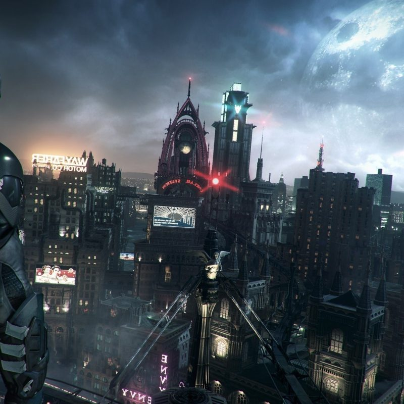 10 Most Popular Gotham City Hd Wallpaper FULL HD 1080p For PC Background 2018 free download wallpaper video games cityscape batman arkham knight skyscraper 1 800x800