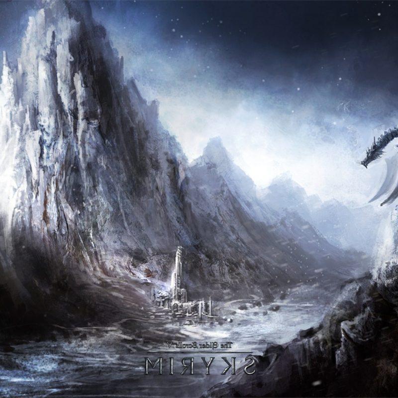 10 Best Skyrim Dragon Wallpaper 1920X1080 FULL HD 1080p For PC Desktop 2018 free download wallpaper video games fantasy art dragon the elder scrolls v 800x800