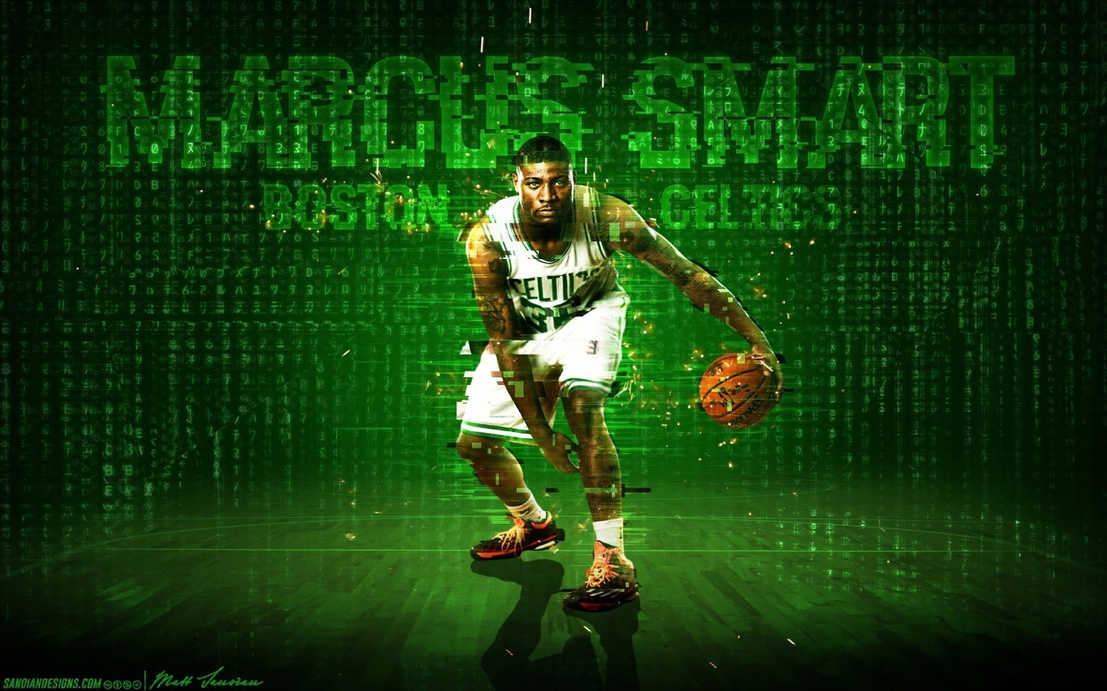 wallpaper wednesday: marcus smart | celticslife - boston celtics