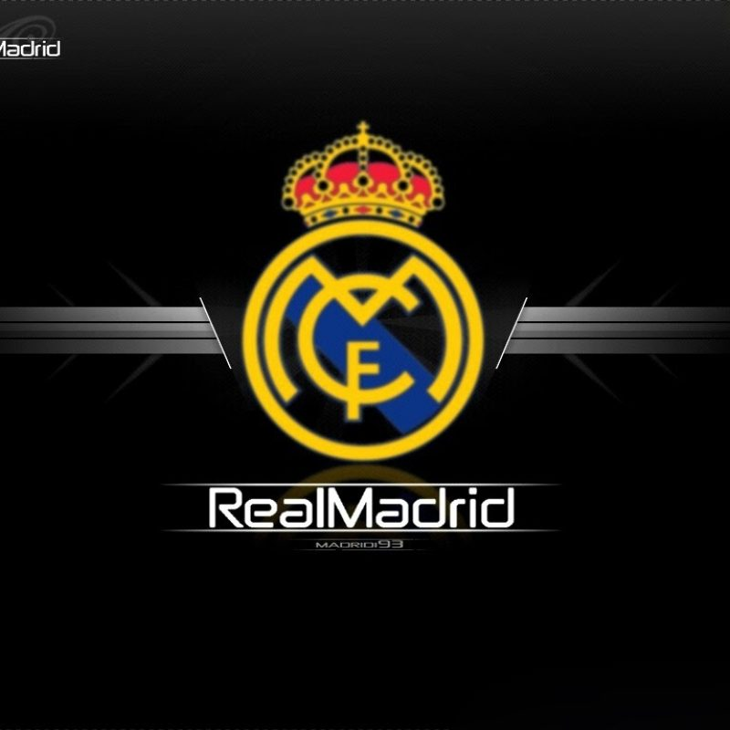 10 Best Cool Real Madrid Logo FULL HD 1080p For PC Background 2018 free download wallpaper wiki real madrid logo wallpaper hd 2015 pic wpb00739 800x800