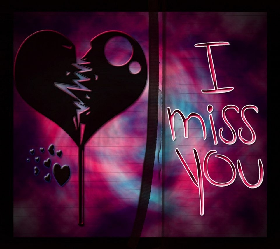 wallpaper's collection: «i miss you wallpapers»