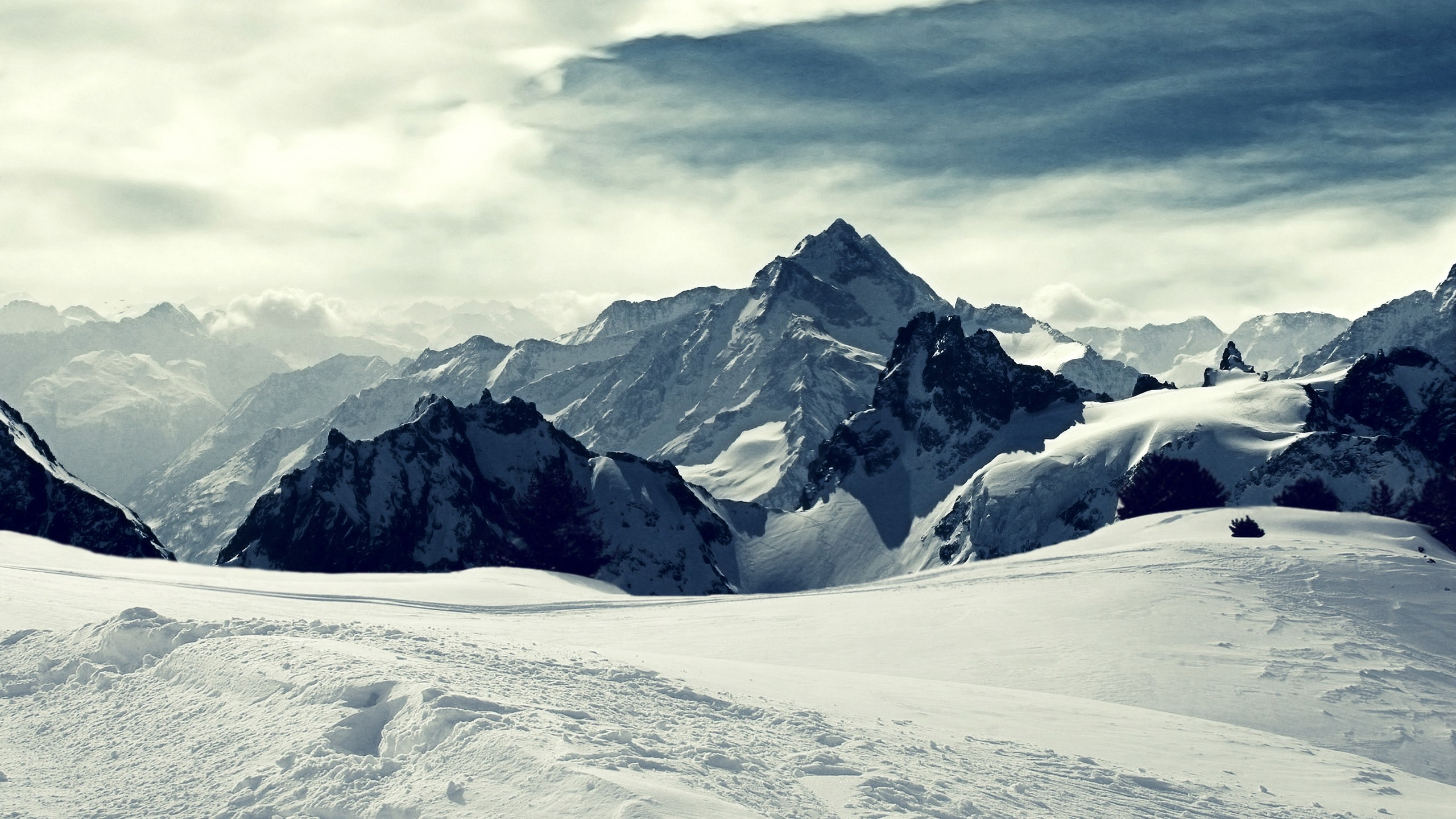 wallpaper's collection: «snowy mountains wallpapers»