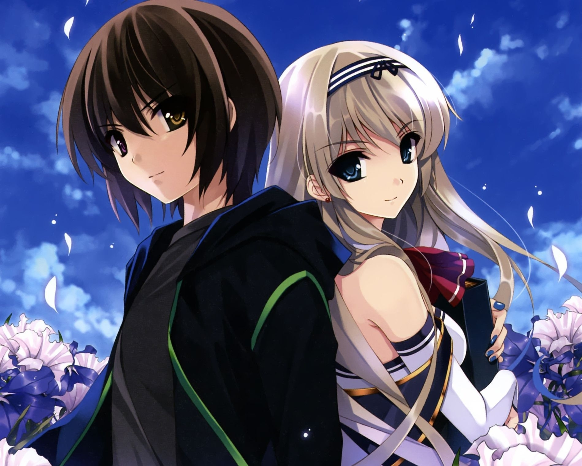 wallpapers for > cute anime couples wallpaper desktop | anime