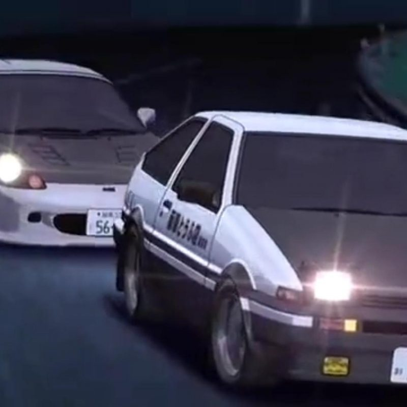 10 New Initial D Wall Paper FULL HD 1080p For PC Desktop