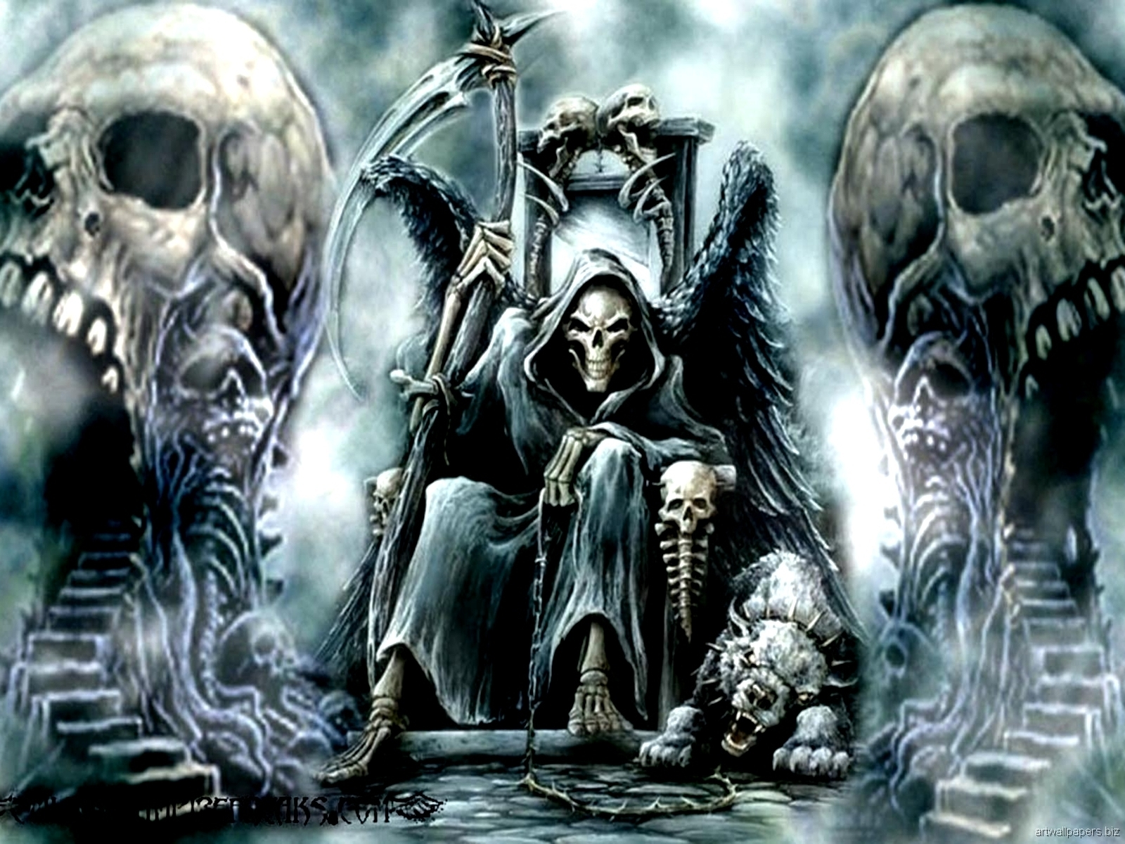 wallpapers skull hd group (86+)