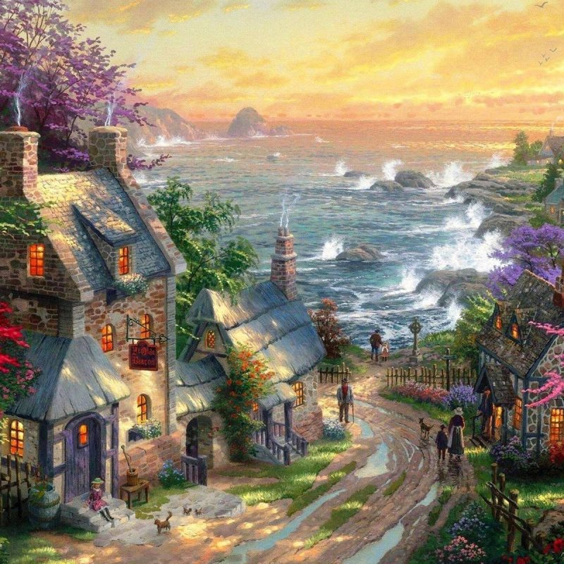10 Most Popular Thomas Kinkade Screensavers Windows 7 FULL HD 1920×1080 For PC Background 2018 free download wallpapers thomas kinkade gallery 75 plus pic wpw3012638 800x800