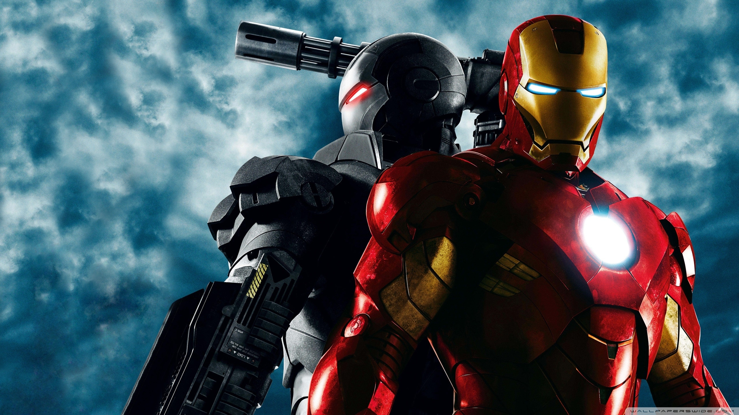 war machine and iron man, iron man 2 ❤ 4k hd desktop wallpaper for