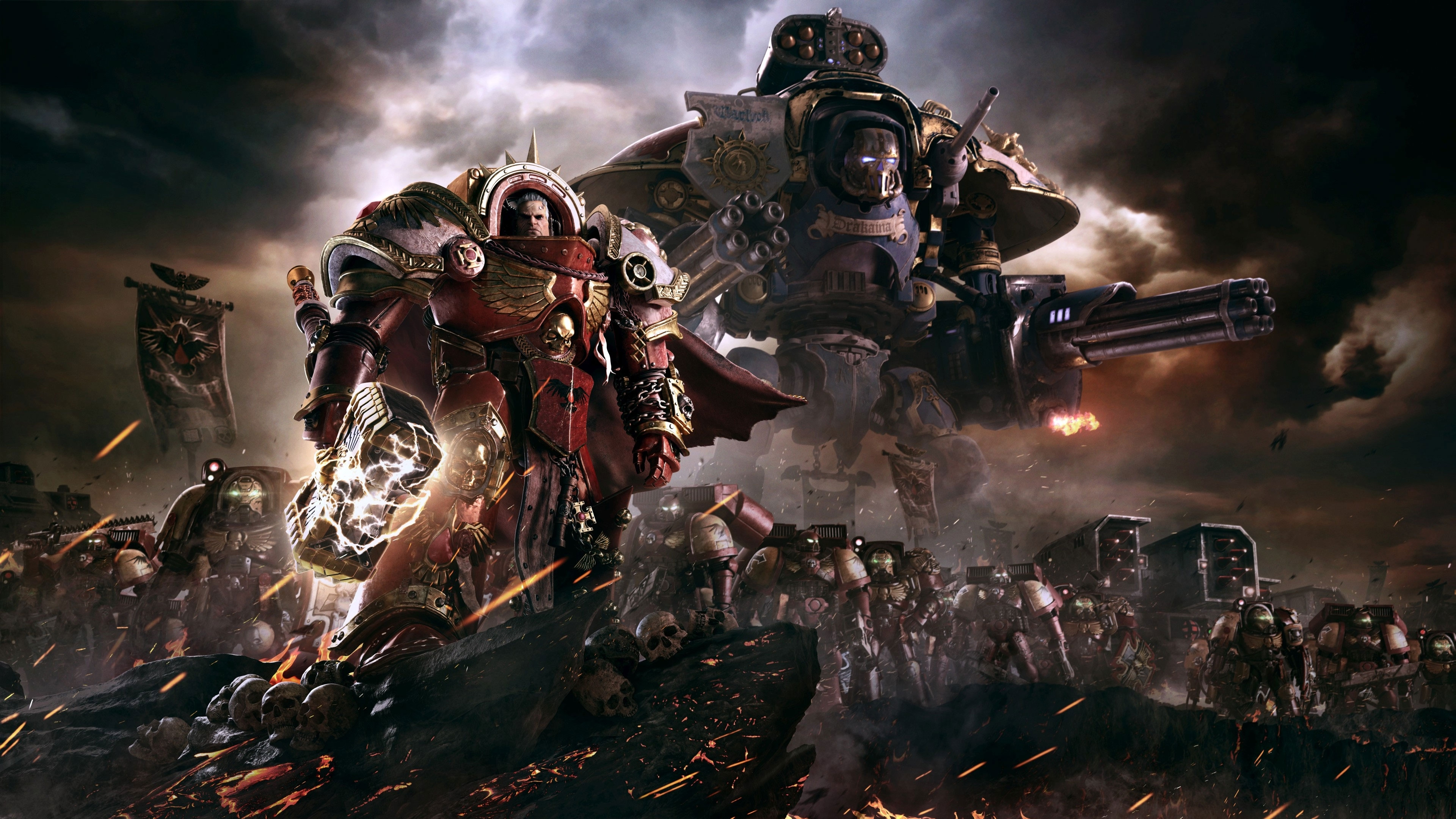 warhammer 40,000: dawn of war iii wallpapers in ultra hd | 4k
