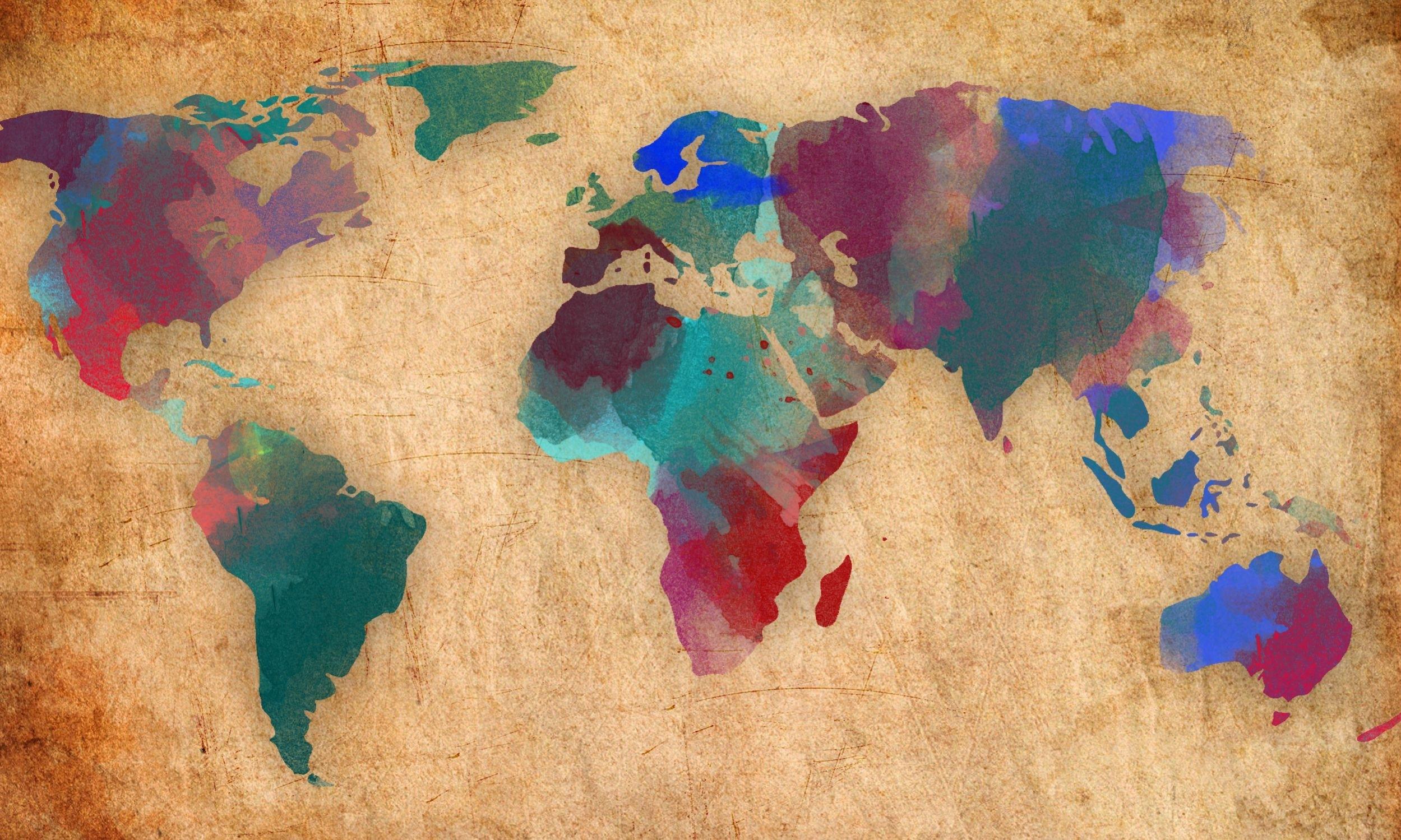10 Best World Map Laptop Wallpaper Full Hd 1920 1080 For Pc