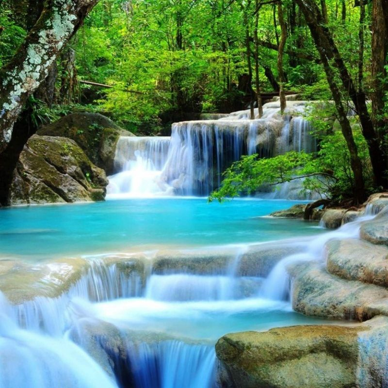 10 Latest Water Fall Wall Paper FULL HD 1080p For PC Background 2020 free download waterfall image for desktop wallpaper 2560 x 1600 px 1 2 mb 800x800