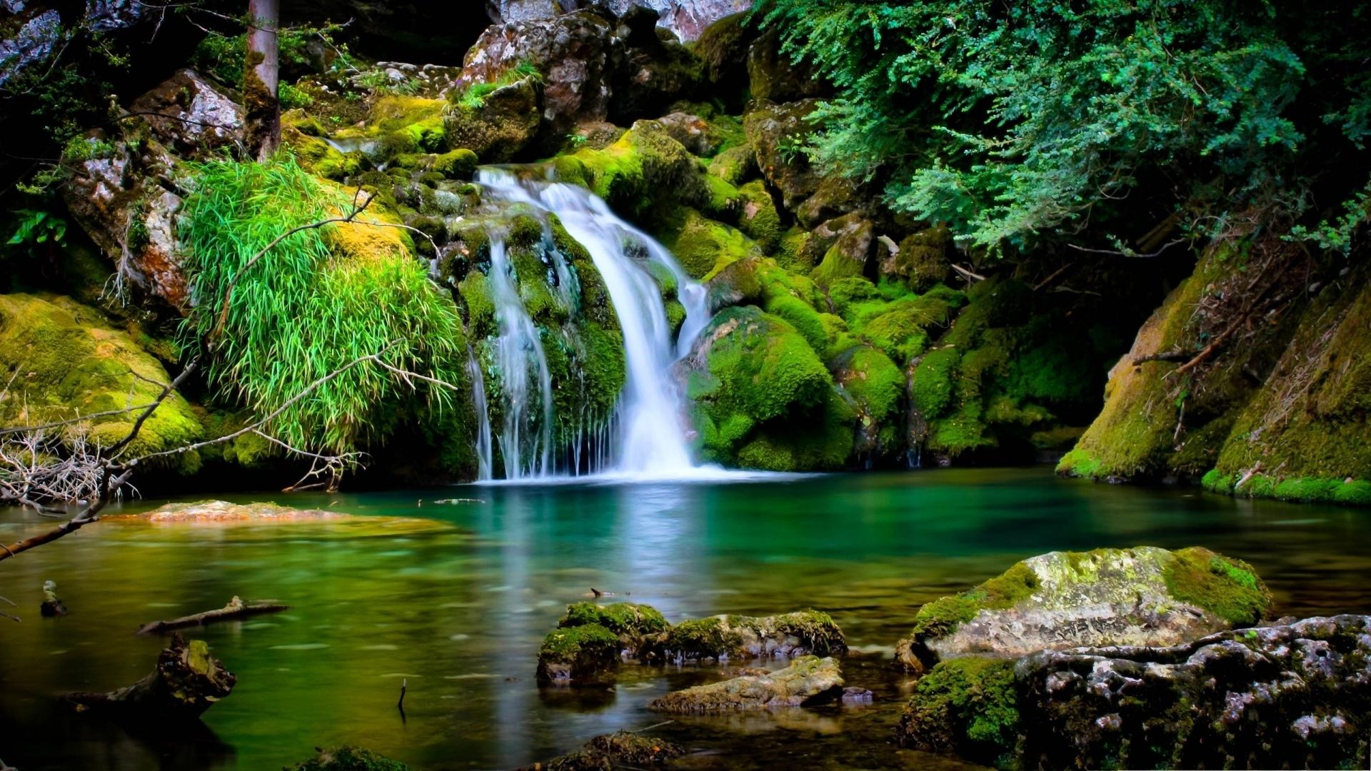 waterfall-scenery-free-hd-wallpapers-for-desktop - hd wallpaper