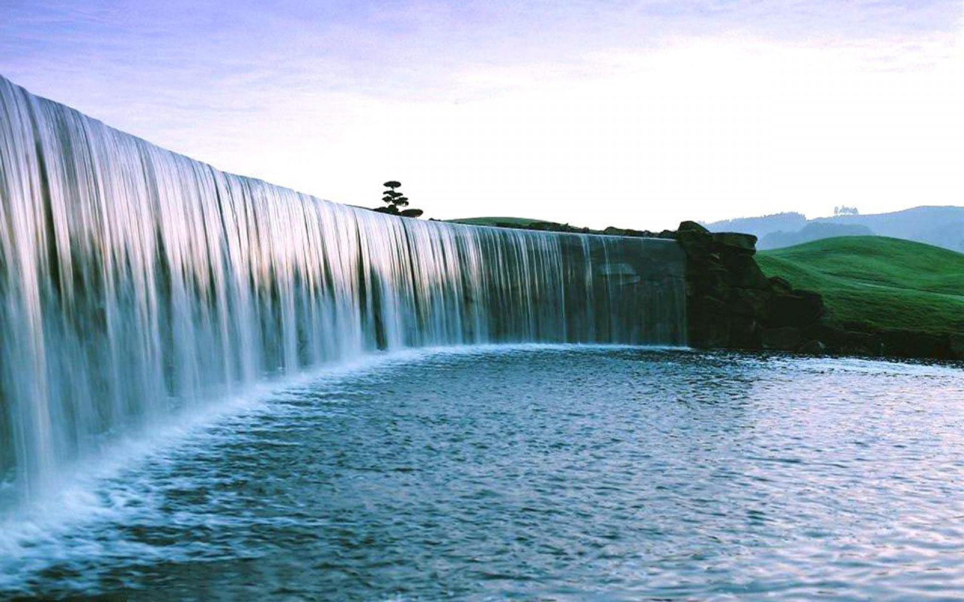 waterfall-wallpaper-fullscreen - wallpaper.wiki