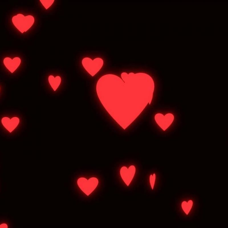 10 Best Hearts With Black Background FULL HD 1920×1080 For PC Desktop 2020 free download wedding loop glowing spinning hearts on black background youtube 1 800x800