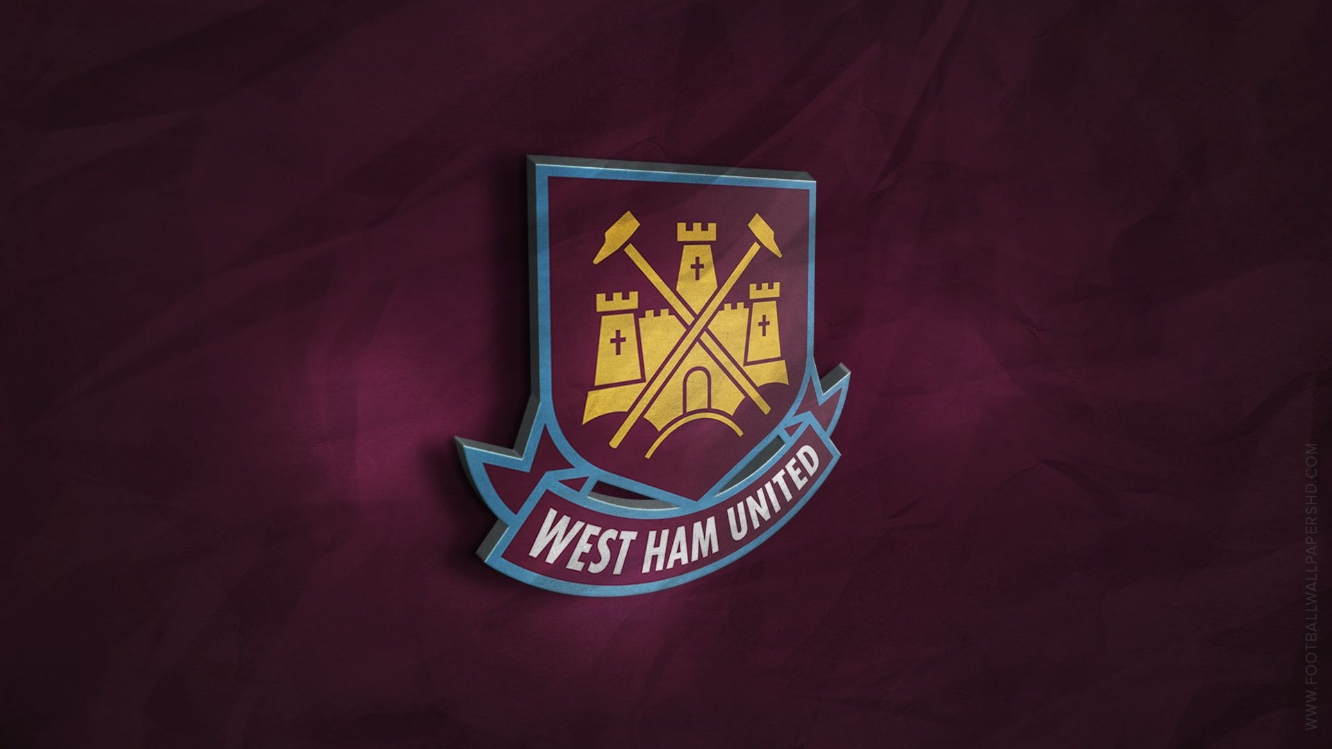 west ham united 3d logo wallpaper | influence | pinterest | west ham