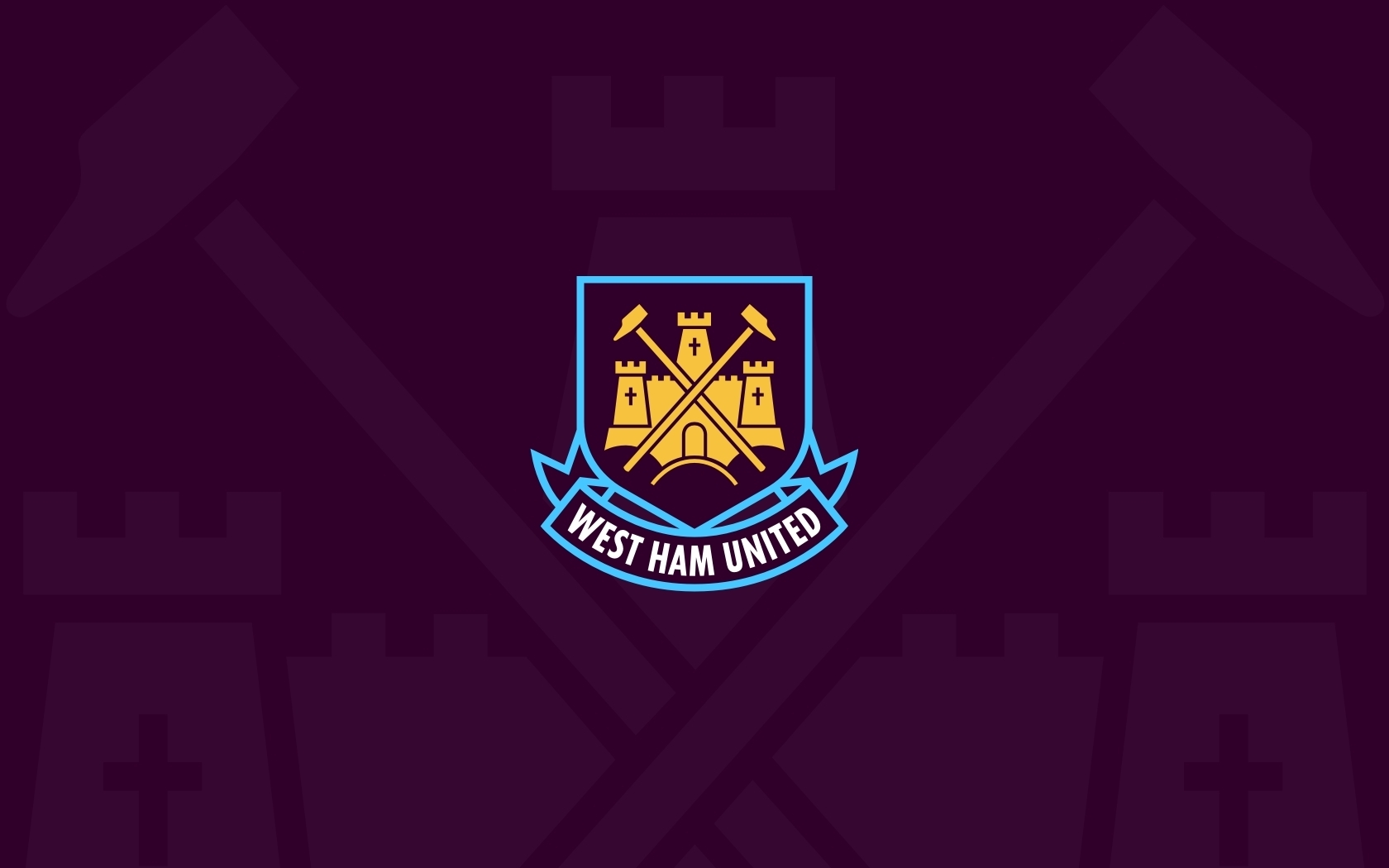 west ham united wallpaper | 1680x1050 | id:35231 - wallpapervortex