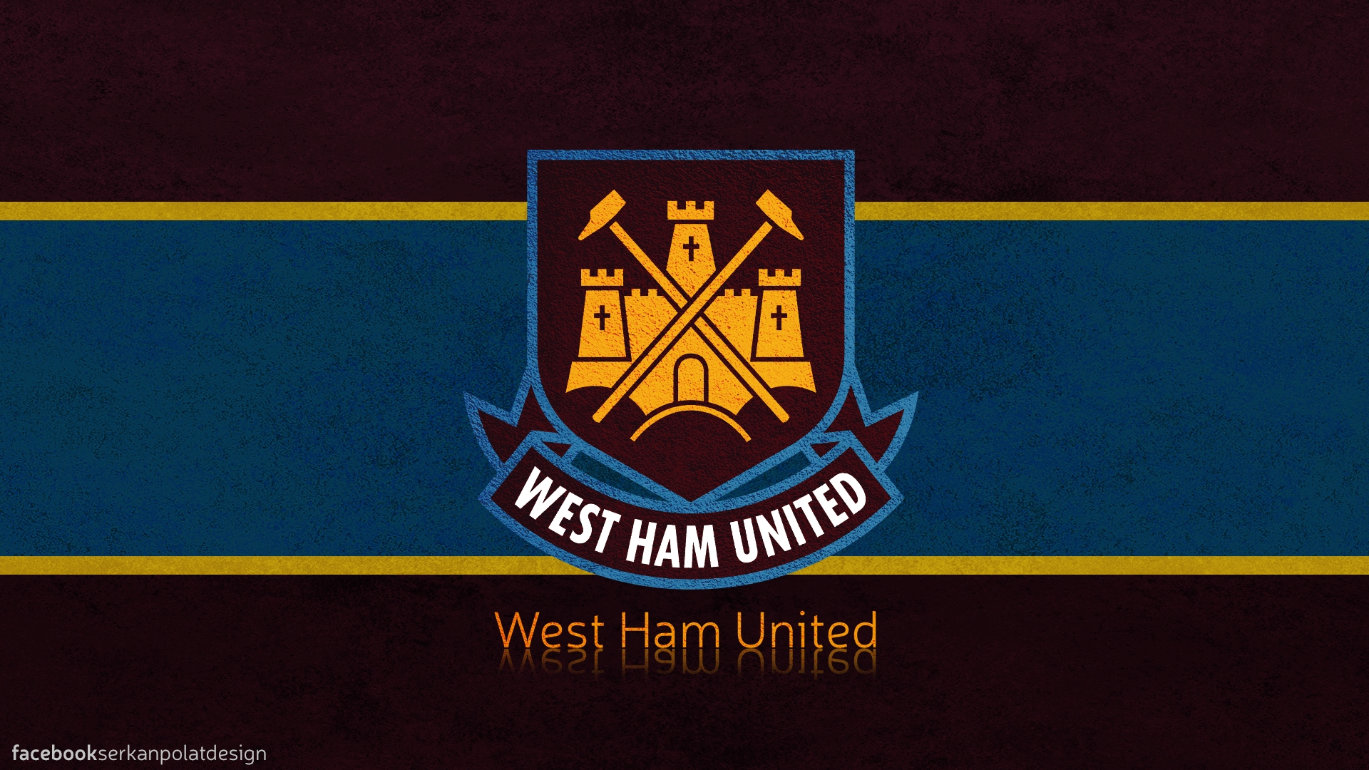 west ham united wallpaperserkanpolatdesign on deviantart