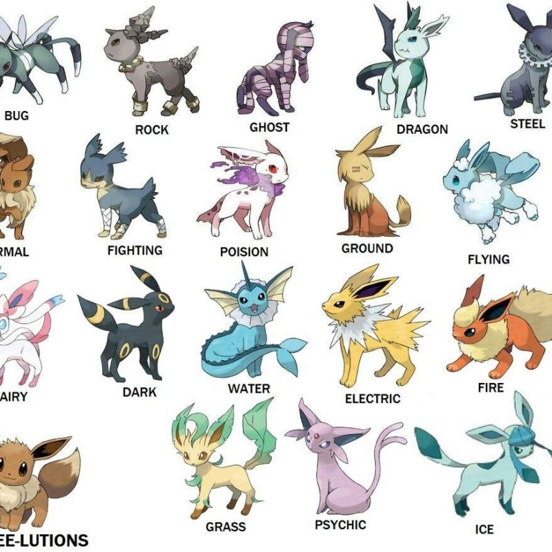 10 Best Images Of Eevee Evolutions FULL HD 1080p For PC Desktop 2020 free download which is your favorite eevee evolution pokemon go amino 800x800