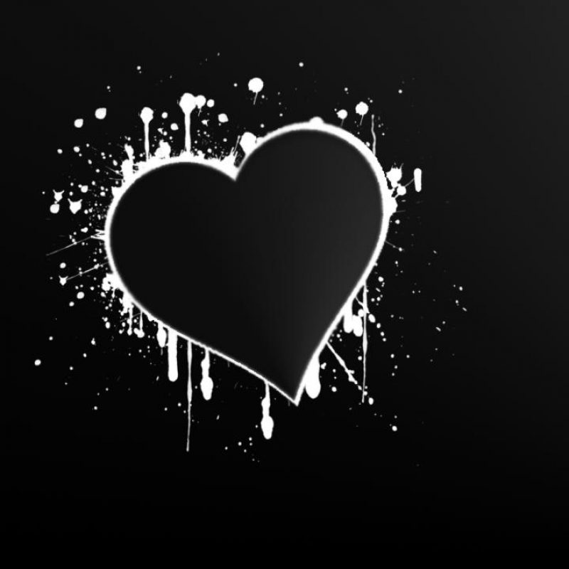10 New White Heart Black Background FULL HD 1080p For PC Background 2021 free download white heart black background 7 background check all 800x800