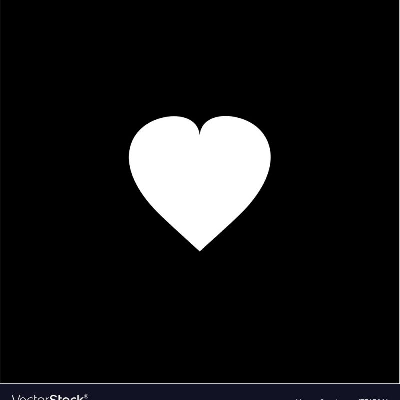 10 New White Heart Black Background FULL HD 1080p For PC Background 2020 free download white heart on black background royalty free vector image 800x800