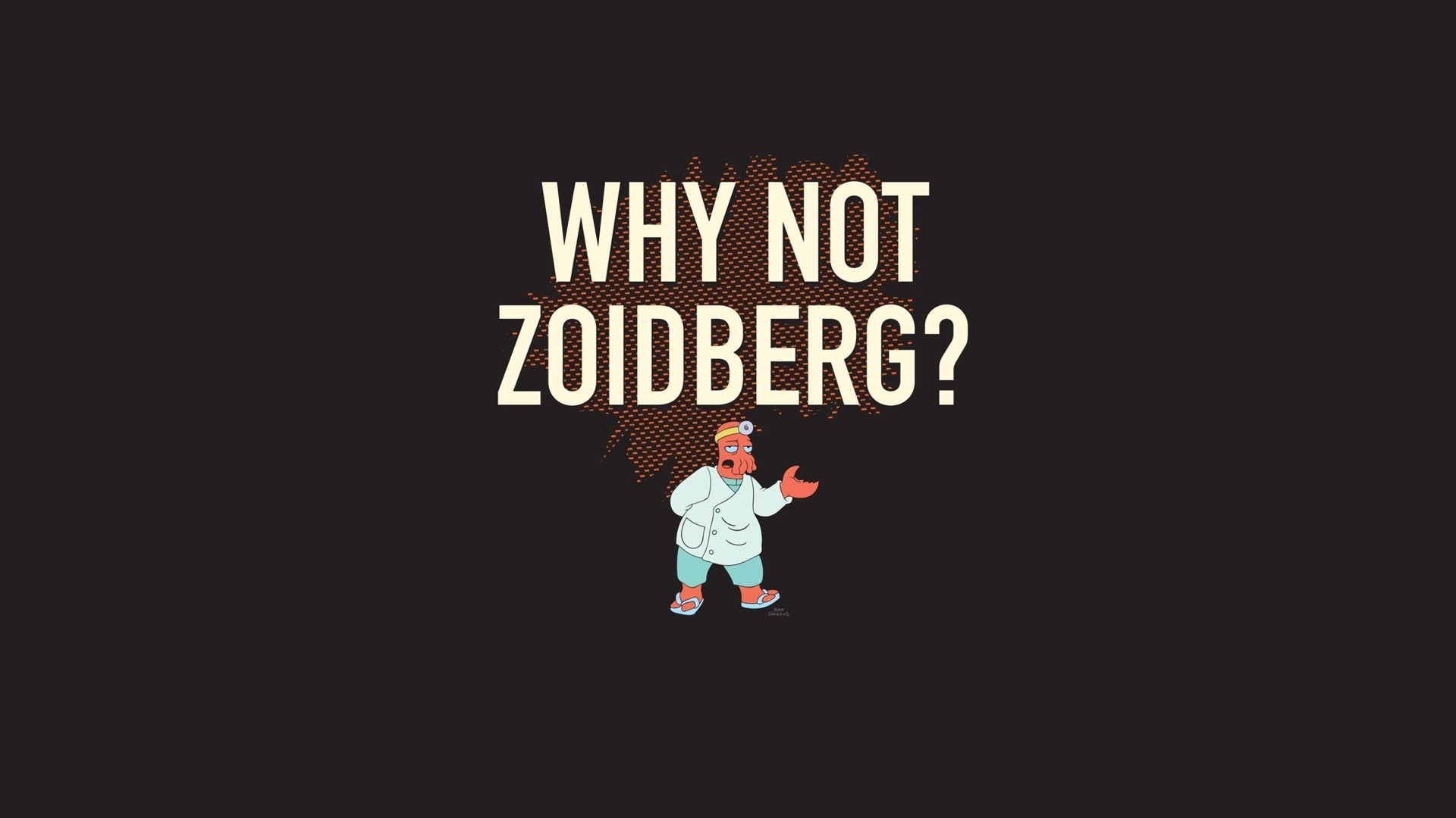 why not zoidberg hd wallpaper | 1920x1080 | id:49905