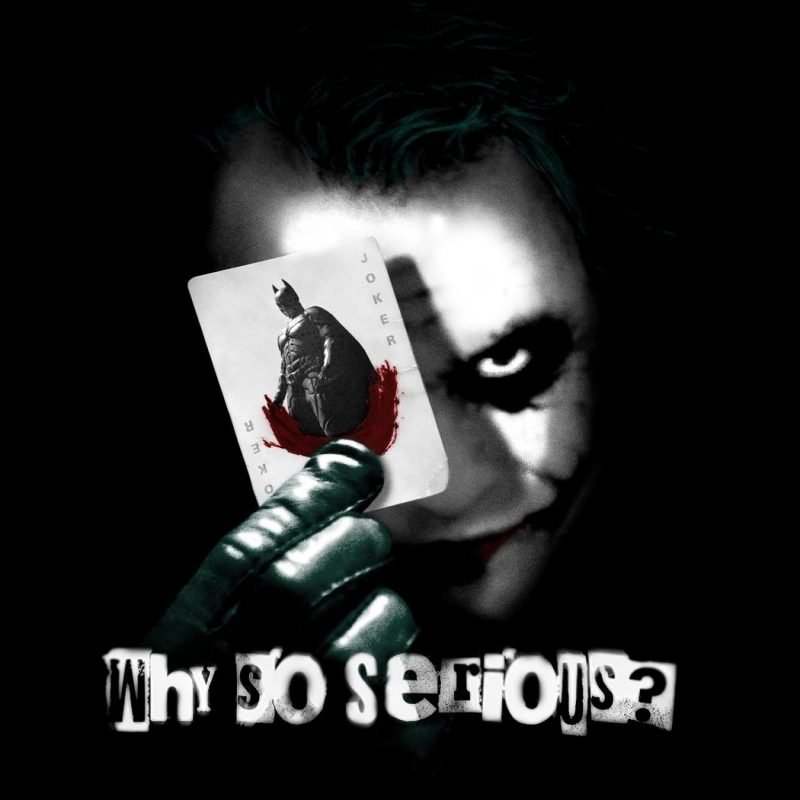 10 Top Why So Serious Pic FULL HD 1920×1080 For PC Desktop 2021 free download why so serious joker fond decran and arriere plan 1680x1050 3 800x800