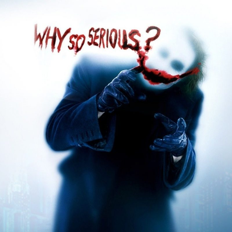 10 Latest Why So Serious Pictures FULL HD 1920×1080 For PC Background 2018 free download why so serious lhistoire demente de la promotion secrete du film 1 800x800