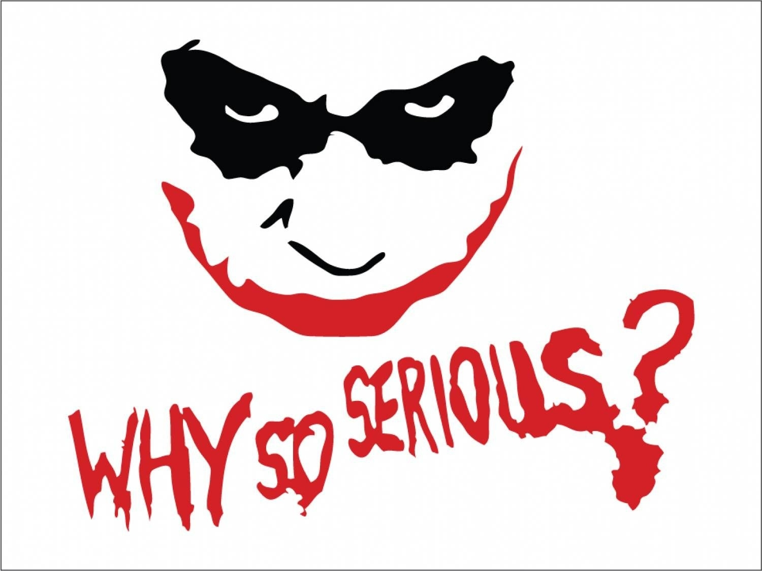 why-so-serious-wallpaper-1 (1500×1125) | levi | pinterest