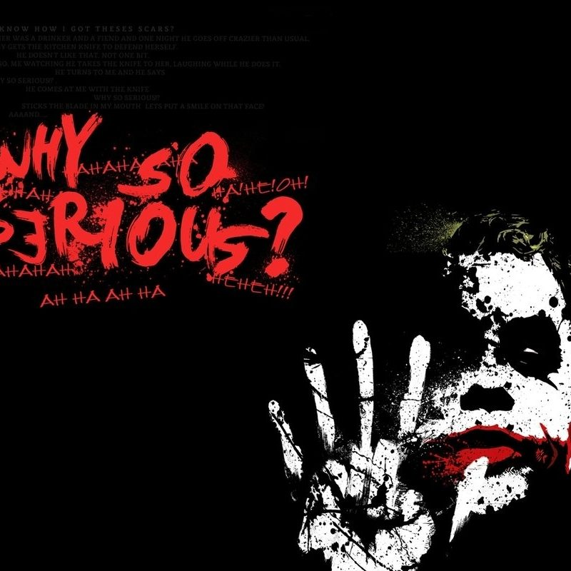 10 Best Why So Serious Logo FULL HD 1080p For PC Background 2021 free download why so seriousmirainovegie on deviantart 800x800