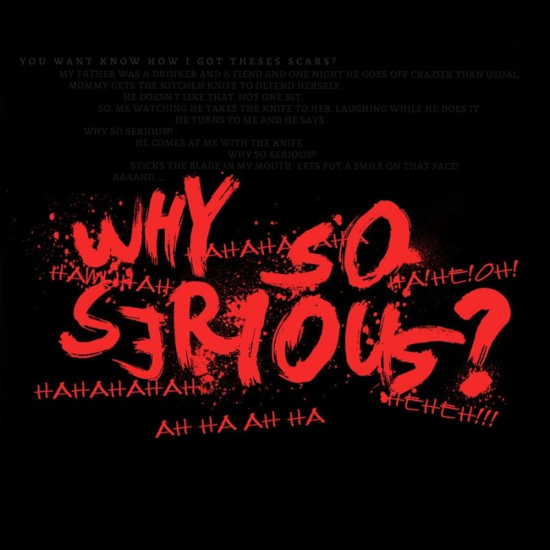 10 Best Why So Serious Logo FULL HD 1080p For PC Background 2020 free download why so seriouswaroflandandsea on deviantart 2 800x800
