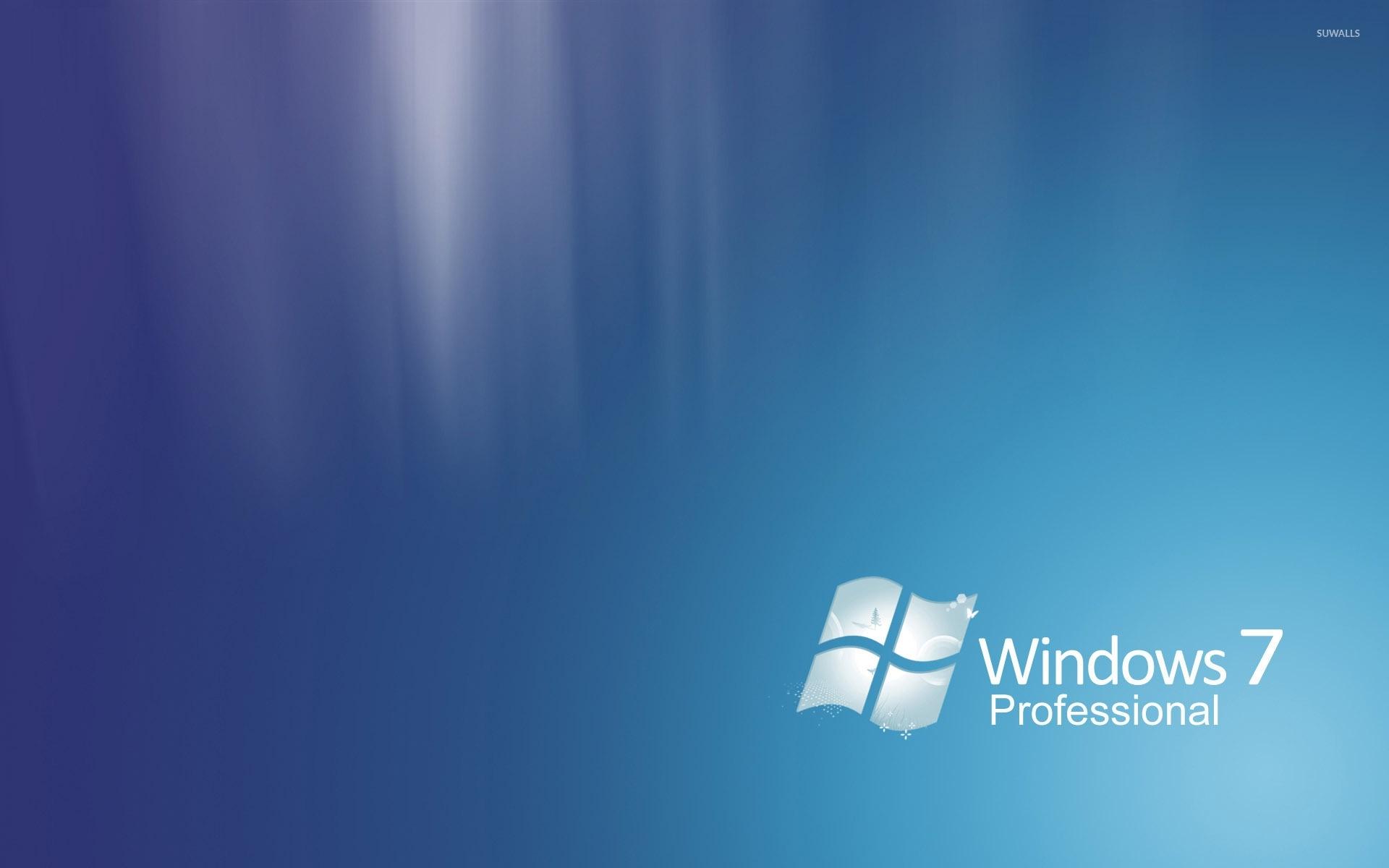 windows 7 professional [2] wallpaper - computer wallpapers - #34734