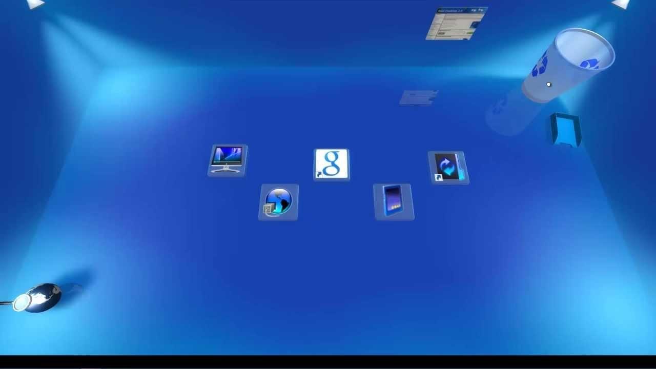 windows 8.1 3d desktop hd - youtube